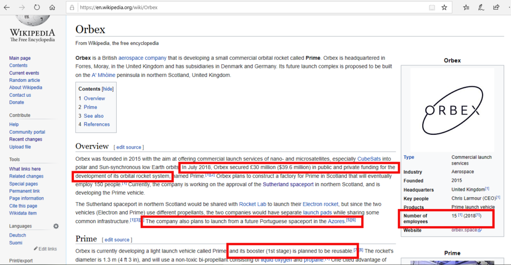 wikipedia orbex