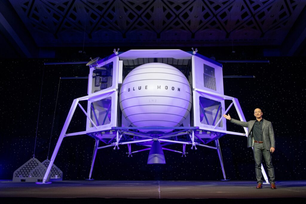 Blue Origin sues NASA over lunar lander contract after securing $25.6M contract