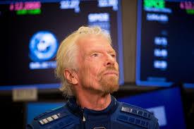 Richard Branson, CEO of Virgin Orbit
