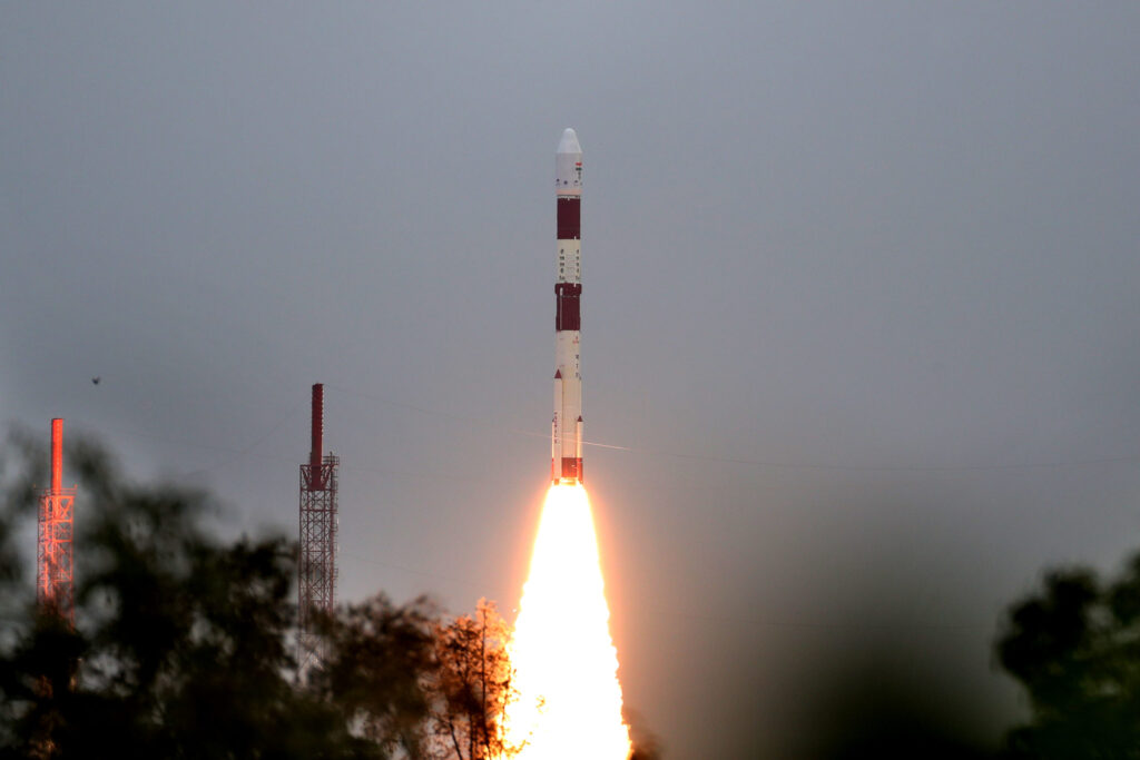 EOS 1 launching PSLV-C49 Satellite
