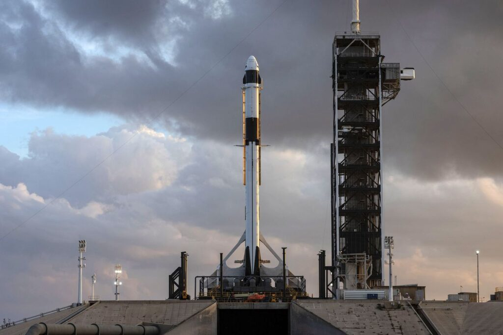 SpaceX Falcon 9 Crew Dragon
