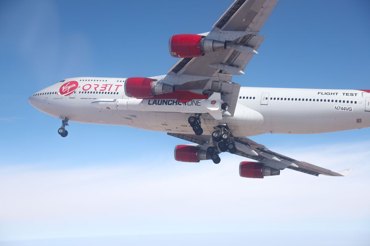 Virgin Orbit's Launcher one