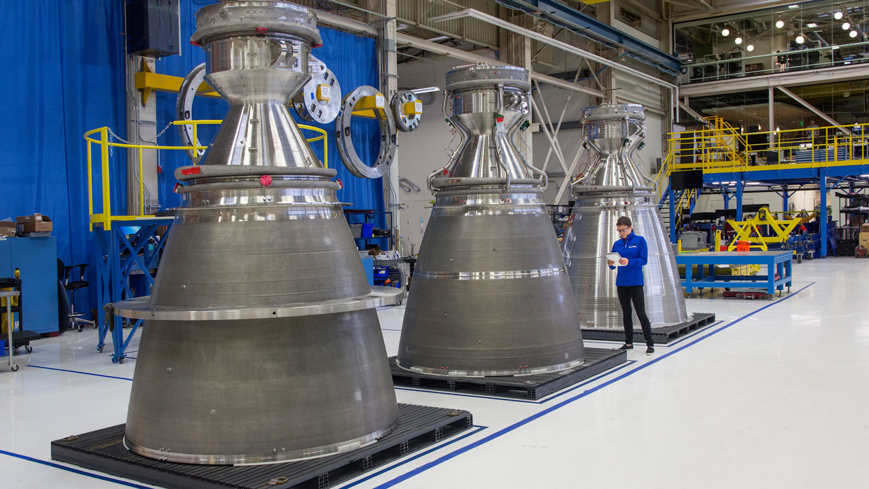 Blue Origin Rocket Engines