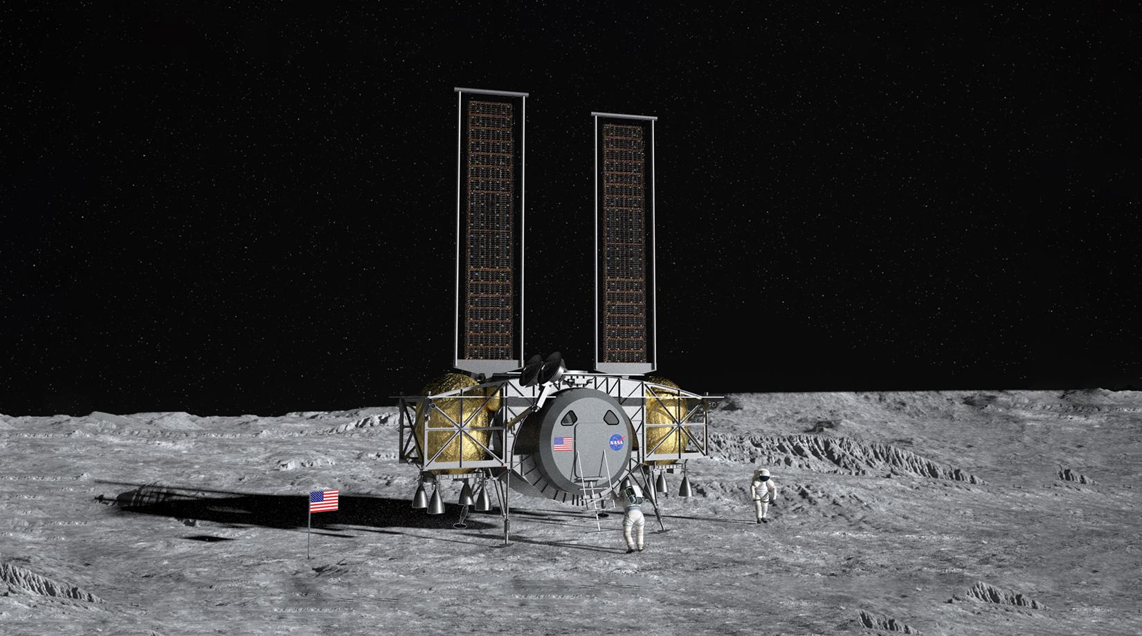 Dynetics Lunar Lander