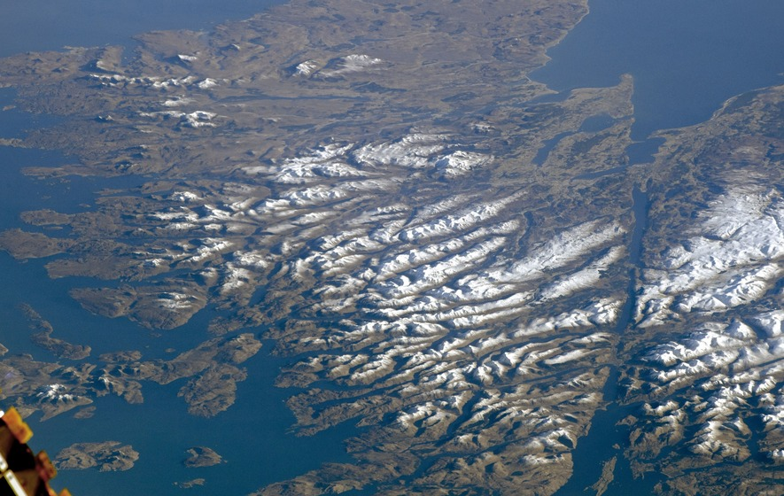 Scotland Satellite View