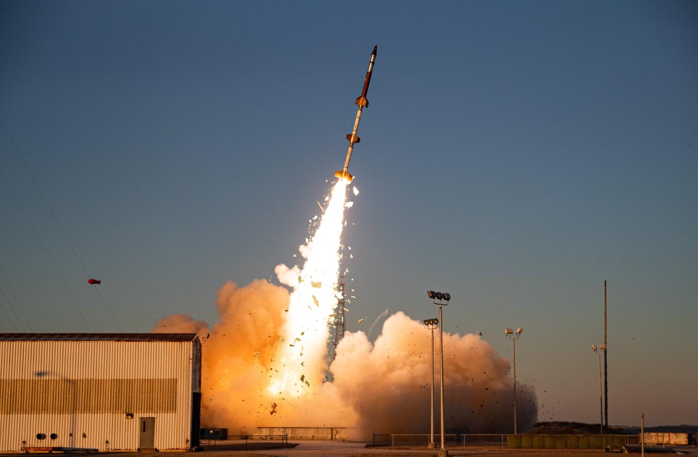 SRP-4 Rocket