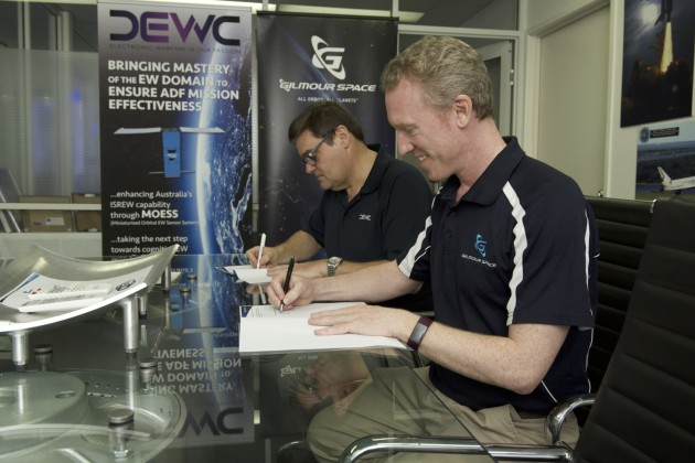 Gilmour Space Technologies and DEWC Systems