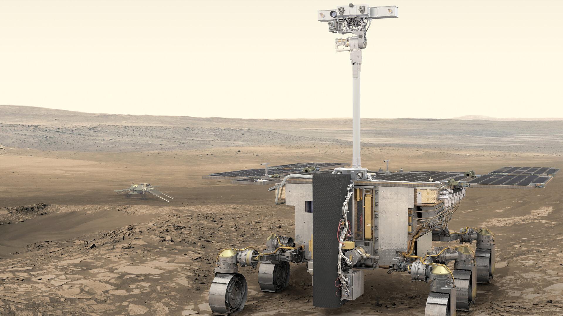 Mars Rover - Rosalind Franklin