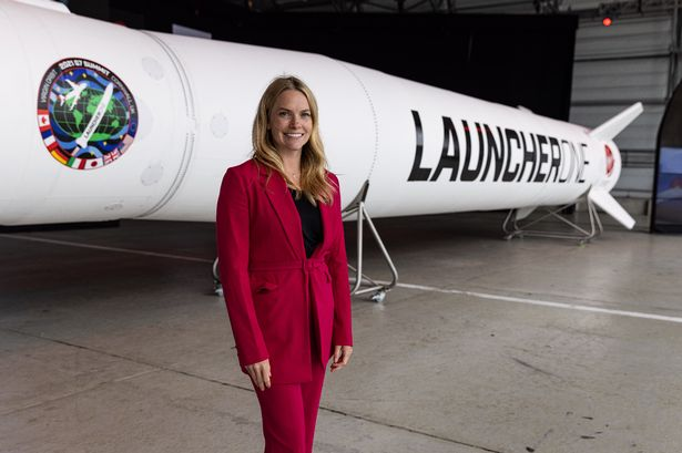 Melissa Thorpe has been appointed the CEO of Spaceport Cornwall